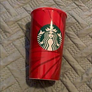 Glass Starbucks cup